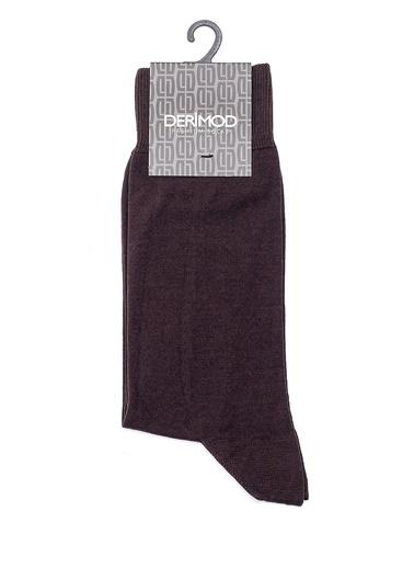 Derimod Erkek Çorap(Ms) Casual Kahve